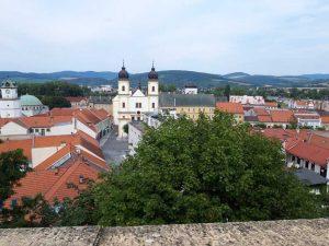 Trenčiansky hrad mesto